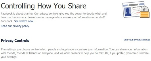 Controlling How You Share