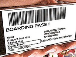Osama bin Laden's Boarding Pass