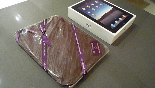 chocolate-dipped ipad