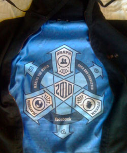 facebook hoodie with insignia
