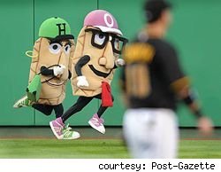 Pittsburgh Pirates fire mascot for Facebook comment.