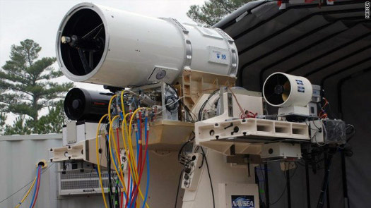 Navy's Laser Weapon System, LaWS