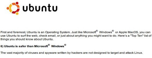 Ubuntu is safer than Windows