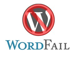 wordpress fail logo