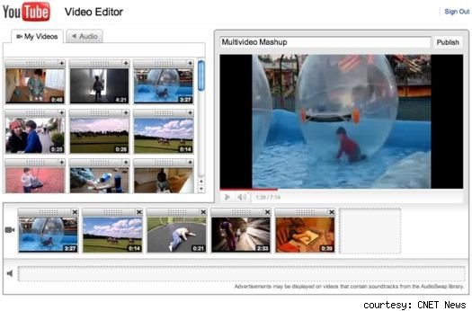 YouTube adds video editor