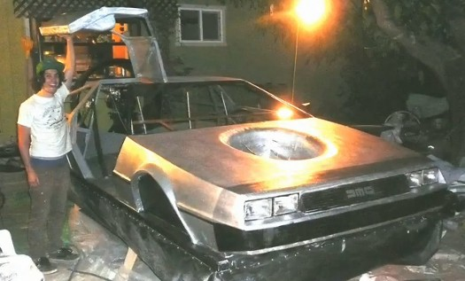 DIY Delorean Hovercraft