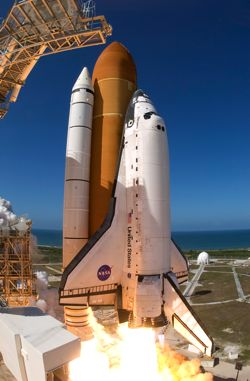 NASA sets dates for last space shuttle missions.