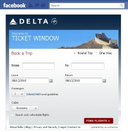 Delta Ticket Window