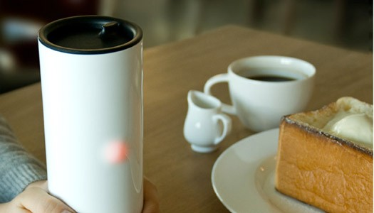 Heartea Interactive Tumbler by Sangmin Bae and ID+IM Design Lab