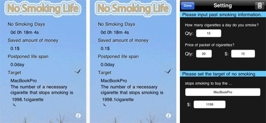 No Smoking Life App