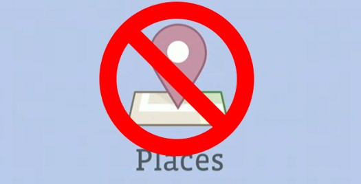 No on Facebook Places