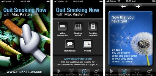 Quit Smoking With MAx Kirsten App