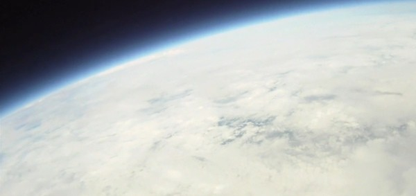 space balloon image