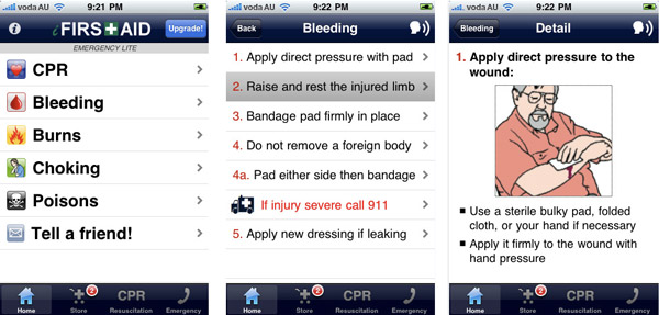 iFirst Aid Lite App