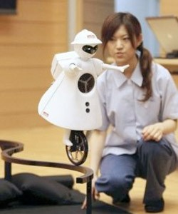 murata robot on a curve