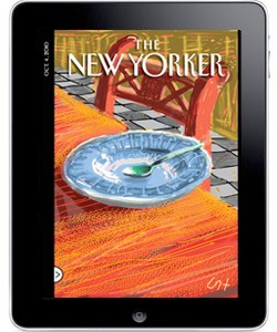 new yorker on ipad
