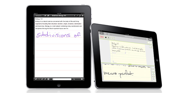note-taking ipad apps