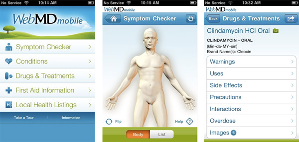 Web MD App