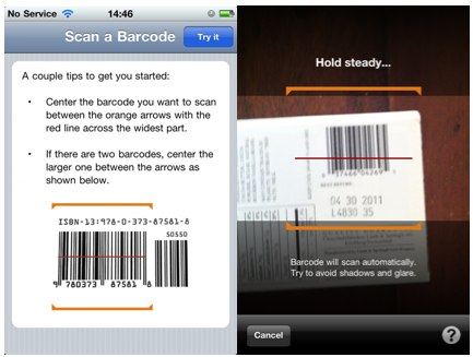Amazon Barcode Scanning