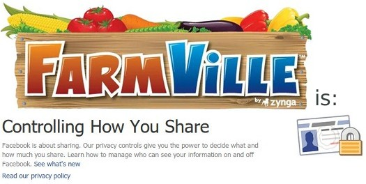 FarmVille Controlling Your Privacy