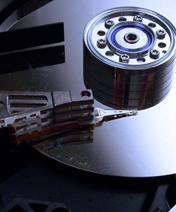 inside of hard drive