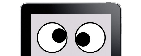 cross-eyed ipad