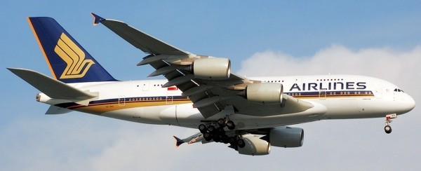 Singapore Airlines could offer in-flight cell phone use.