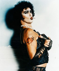 tim curry in 'rocky horror picture show'