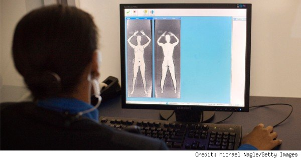 body scanner at jfk