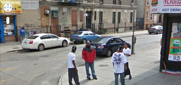 Heroin Dealers on Street View