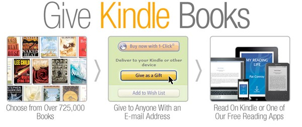 Give Kindle Books