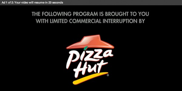 pizza hut ad