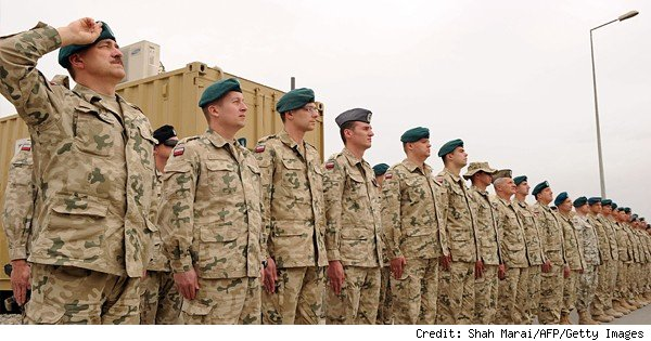 polish soldiers in afghanistan