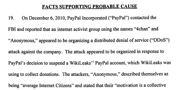 fbi investigation of anonymous