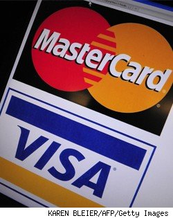 mastercard and visa logos