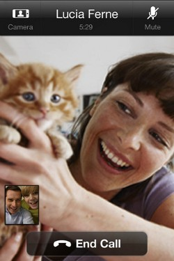 Skype Video Call on iPhone