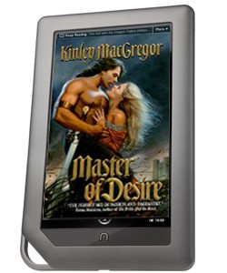 romance novel on nook color