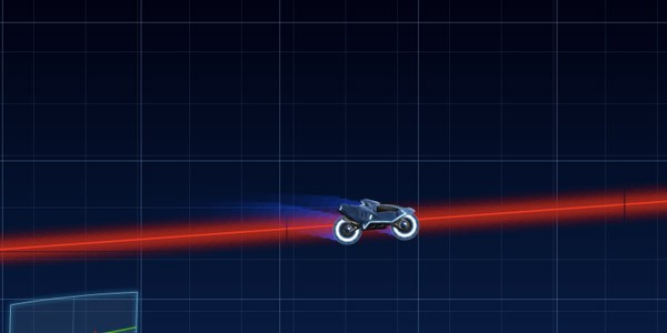 Tron Racing Game