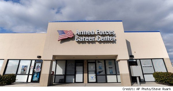 armed forces recruiting office