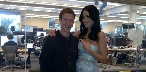 katy perry and mark zuckerberg