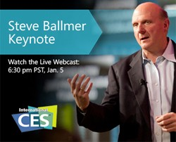 steve ballmer keynote at CES