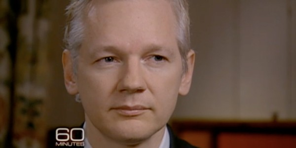 julian assange on '60 minutes'