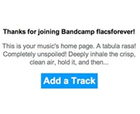 how to use bandcamp