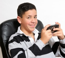 kid with psp
