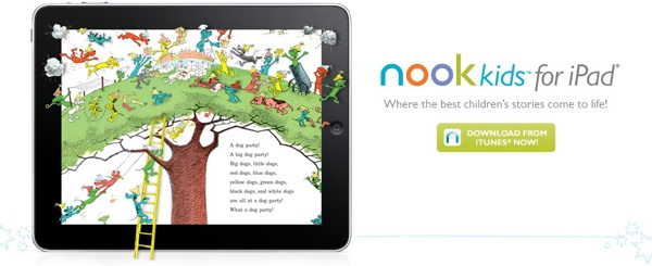 Barnes & Noble launches Nook Kids for iPad.
