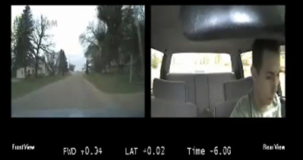 Insurance company puts cameras in teens' cars.