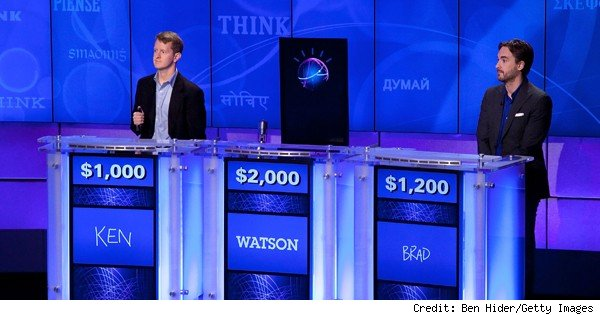 watson vs. humans on jeopardy