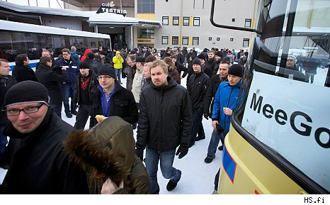 Nokia Employees Walk Out