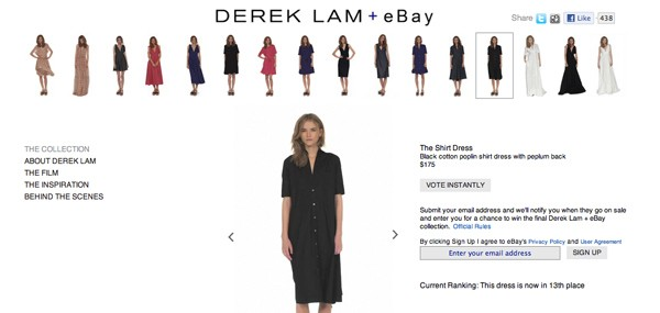 derek lam + ebay