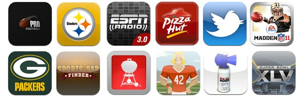 Super Bowl iPhone Apps